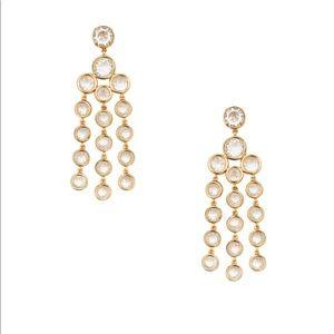 Kate spade Subtle sparkle chandelier earrings